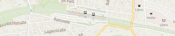 Karte Bahnhof Melk