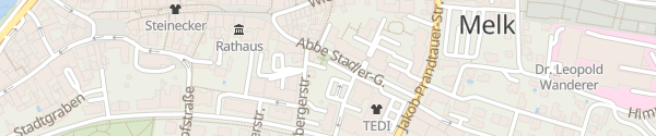 Karte Parkplatz Zentrum Melk