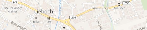 Karte Veranstaltungshalle Lieboch