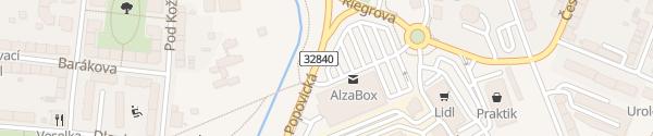 Karte Kaufland Jičín