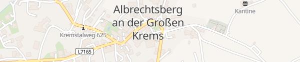 Karte Gemeindehaus Albrechtsberg