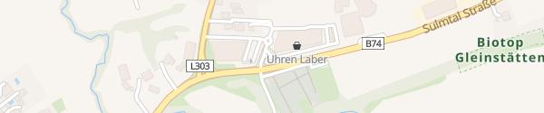 Karte Einkaufszentrum Pistorf