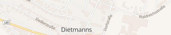 Karte Gemeindeamt Dietmanns