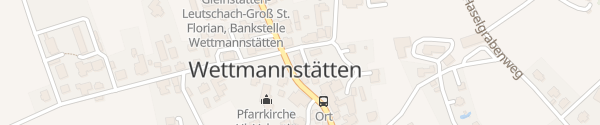 Karte Gemeindeamt Wettmannstätten