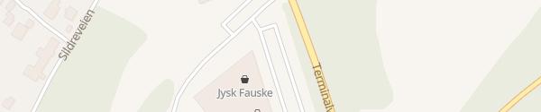 Karte Fauske Handelspark Fauske