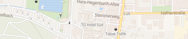 Karte Hotel Süd Graz