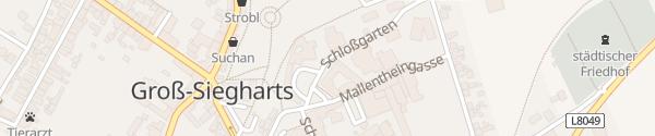 Karte Technologie- und Bildungszentrum Groß-Siegharts
