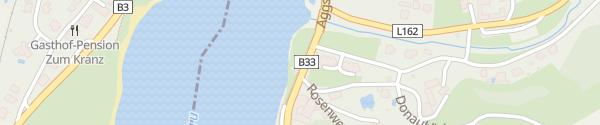 Karte Radweg Aggsbach-Dorf