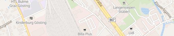 Karte Merkur Graz-Gösting