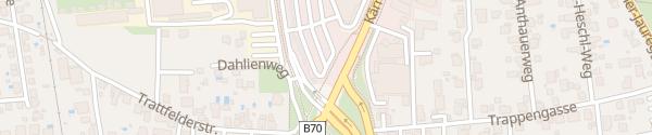 Karte Park & Ride Webling Graz