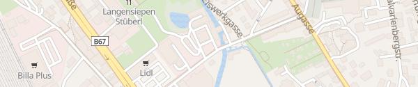 Karte E-Werk Gösting Graz