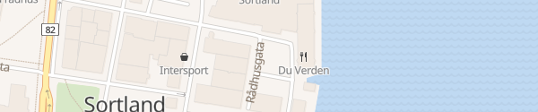 Karte Skibsgården Senter Sortland