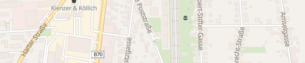 Karte Wohnviertel Alte Poststraße / Feldgasse Graz