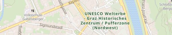 Karte Lendplatz Graz