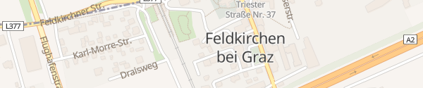 Karte Parkplatz Kirchengasse Feldkirchen bei Graz
