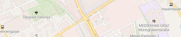 Karte McDonald's Graz