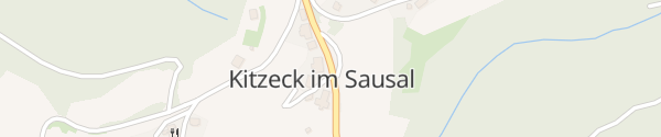 Karte Gemeindeamt Kitzeck im Sausal