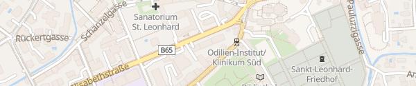 Karte E-Mobil Shop Graz