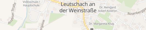 Karte Kirchplatz Leutschach