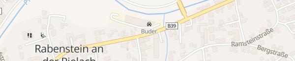 Karte VW Autohaus Buder Rabenstein an der Pielach
