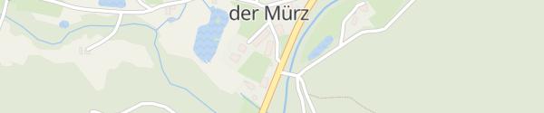 Karte Hotel-Gasthof Freinerhof Frein an der Mürz