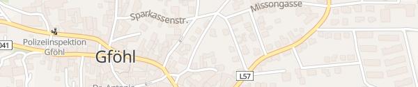 Karte Parkplatz Gföhl