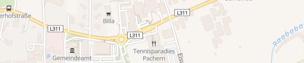 Karte tim e-Carsharing Hart bei Graz