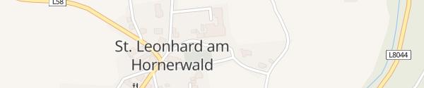 Karte Hauptschule St. Leonhard am Hornerwald