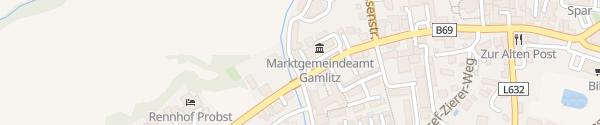 Karte Gemeindeamt Gamlitz