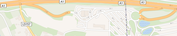 Karte Raststation Sankt Pölten Gerersdorf