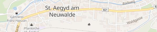 Karte Spar-Markt St. Aegyd am Neuwalde