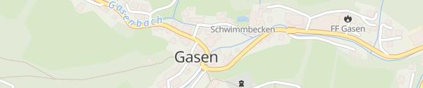 Karte Stoanihaus Gasen