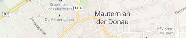 Karte Rathaus Mautern an der Donau