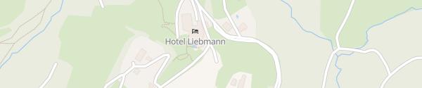 Karte Hotel Liebmann Laßnitzhöhe