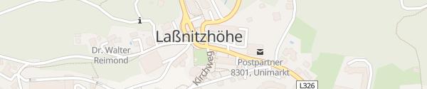 Karte Gemeindeamt Laßnitzhöhe