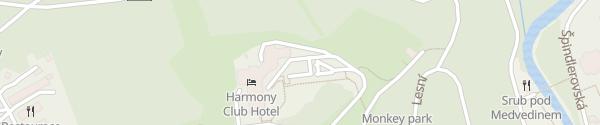 Karte Harmony Club Hotel Špindlerův Mlýn