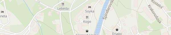 Karte Hotel Savoy Špindlerův Mlýn
