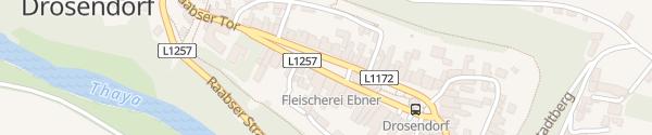 Karte Hauptplatz Drosendorf