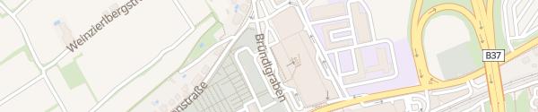 Karte Mariandl Einkaufszentrum - Tiefgarage Krems