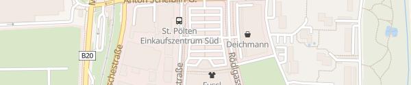 Karte Merkur St. Pölten