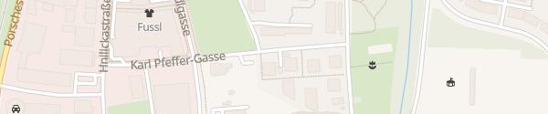 Karte Karl-Pfeffer-Gasse St. Pölten