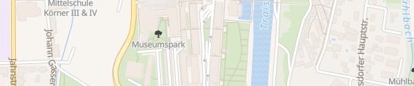 Karte Landhausgarage Sankt Pölten