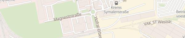Karte RIZ Krems Krems