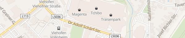 Karte Traisenpark St. Pölten