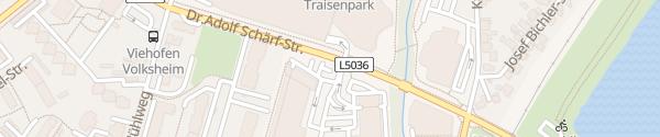 Karte Traisencenter St .Pölten