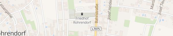 Karte Friedhof Rohrendorf bei Krems