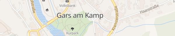 Karte Kurpark Gars am Kamp