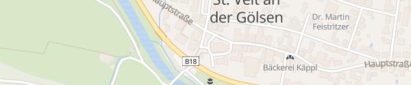 Karte Kirchenplatz Sankt Veit an der Gölsen