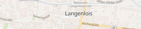 Karte Holzplatz Langenlois