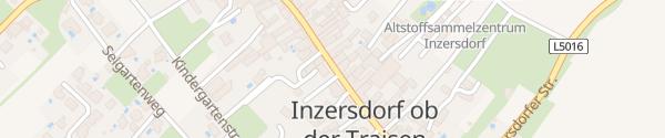Karte Dorfstraße Inzersdorf ob der Traisen